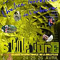 24 - 25 - 26 avril 2015 - a l'occasion de la journée internationale de la sculpture,