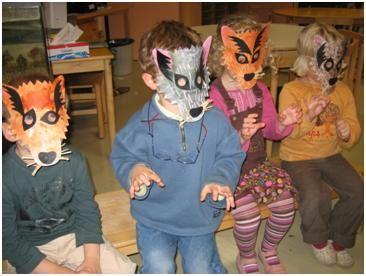 Masques de loups
