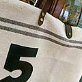 sac numéro 5 détail