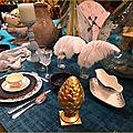 Déco table originale au château d'angers