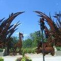 sculpture pour le zoo