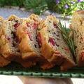 Cake ricotta, poivrons, tapenade