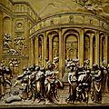 porte du paradis baptistère de Florence