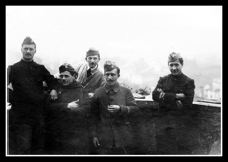 prisonniers alsaciens-lorrains 5 sous-officiers