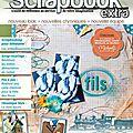 Ma première publication dans la revue scrapbook extra