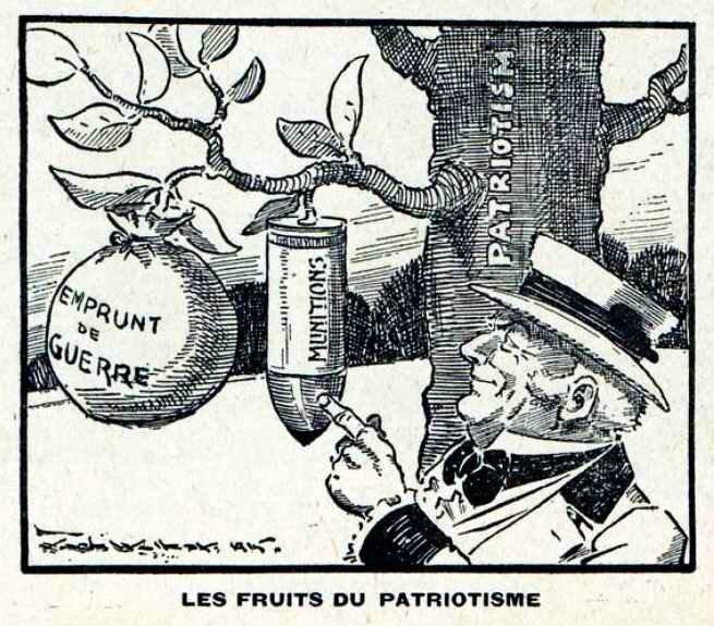 Fruits du patriotisme