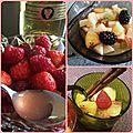 Siroter différemment sa salade de fruits frais!