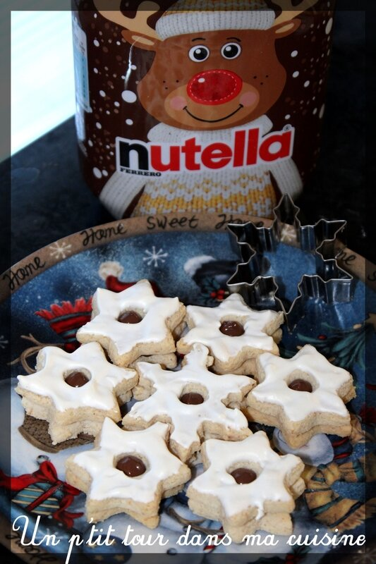 Biscuits étoilés Nutella