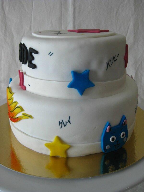 gâteau Fairy Tail 20140301 (24)