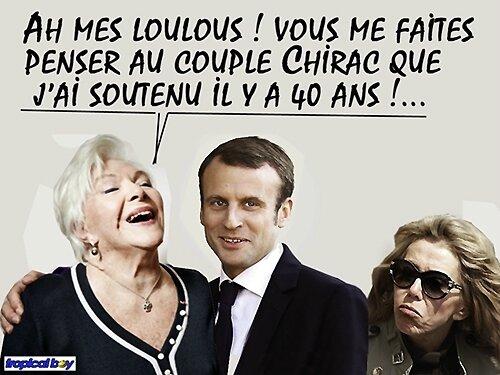 macron chirac