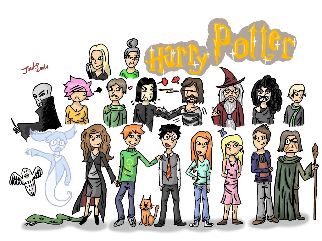Dessin Harry Potter