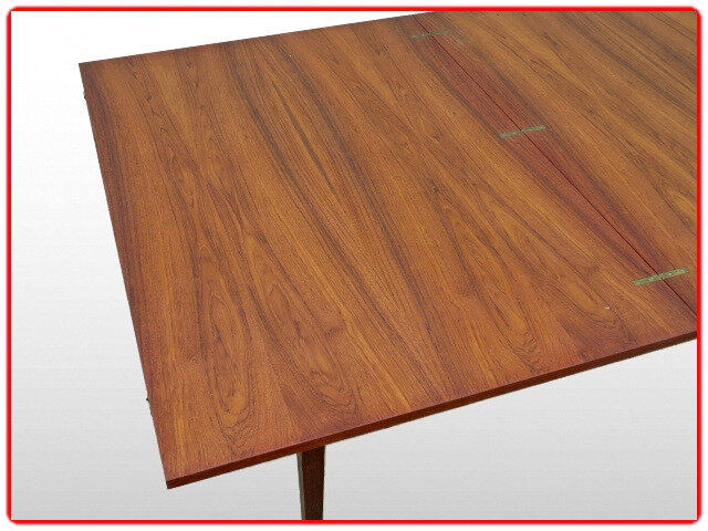 table d'occasion teck vintage scandinave
