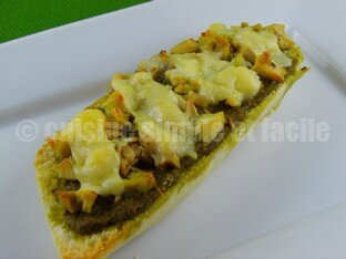 tartines poulet pesto 06