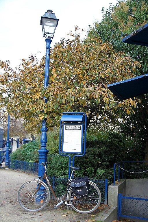 vélo, jardin automne_9107