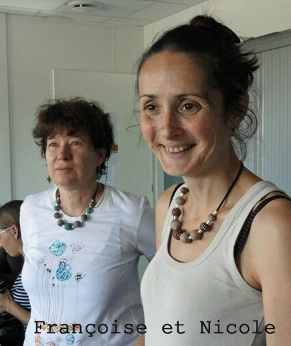 Françoise et Nicole atelier fimo Toulouse