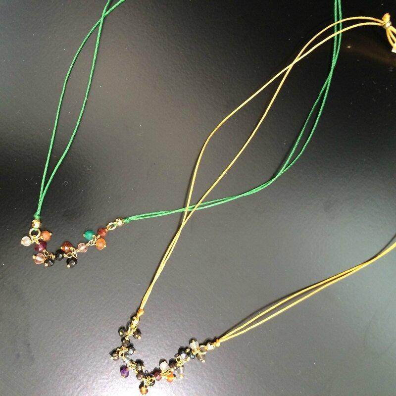 YUNA bijoux pierres semi précieuses, plaqué or, or jaune, or rose, argent véritable, collection printemps été 2015 Boutique Avant-Après 29 rue Foch 34000 Montpellier (8)