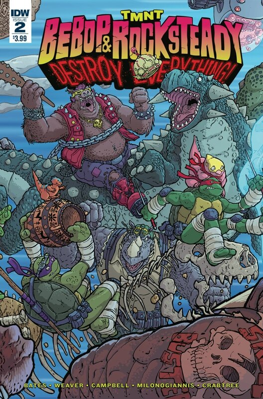 IDW TMNT bebop & rocksteady destroy everything 02