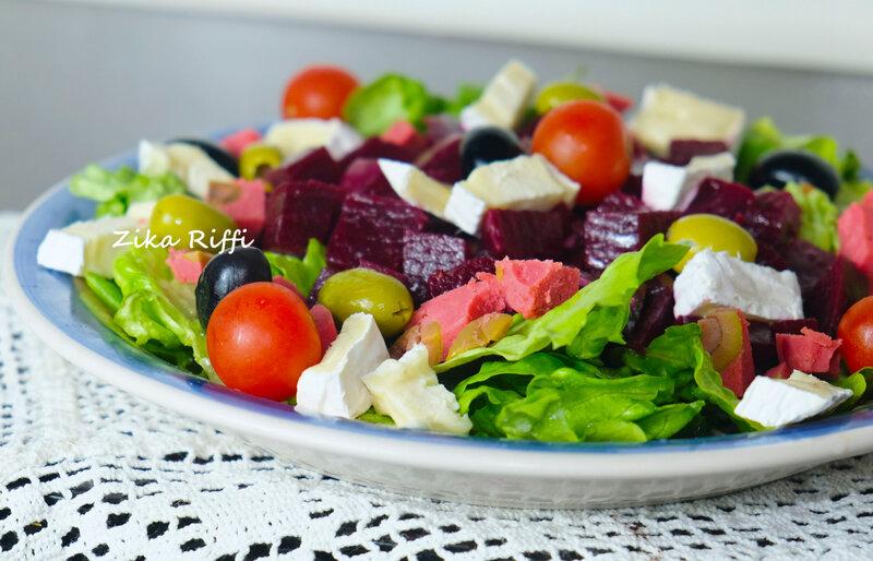 salade betterave camembert et salami 05