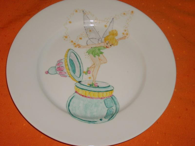 assiette fée Clochette