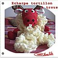 Echarpe tortillon trous crochet tuto