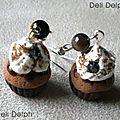 bo cupcake marron'