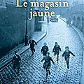 Marc trevidic, le magasin jaune, seuil, 316 pages