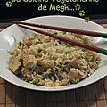 Riz cantonnais végétarien « façon megh »...