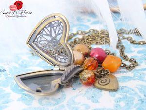 Sautoir vintage le coeur à ses secrets (4)