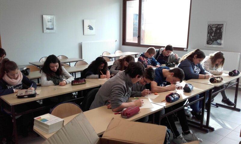 Atelier écriture collège