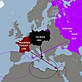 Risque de guerre algérie-maroc et hypothèse d'intervention russe