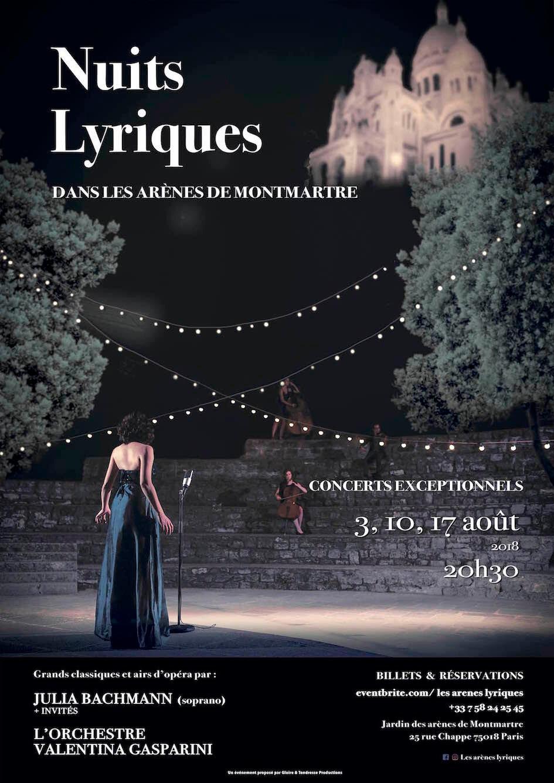 Soirée musicale exceptionnelle sur la butte de Montmartre a Paris