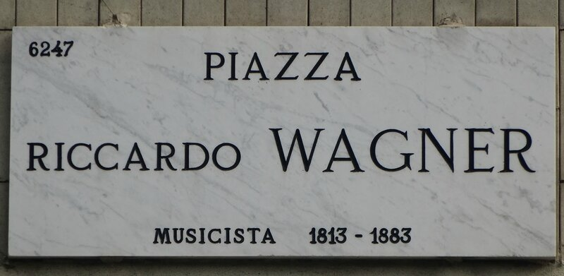 Place Wagner (plaque)