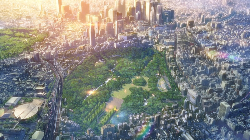 Canalblog Anime Makoto Shinkai The Garden Of World Buildings03
