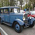 Peugeot 201b berline 4 portes 1933