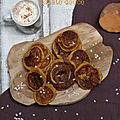 Choux ronds à la patate douce et aux épices (inspirés de p. conticini)