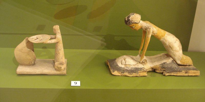 figurine égyptienne, panification