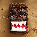 Brownies domo kun, le monstre gentil-brownie