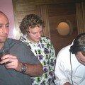 Christophe, MatMat et Pat St Rem