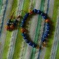 Bracelet et B.O. de plus près