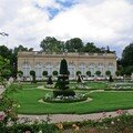 A look on the bagatelle park near paris
