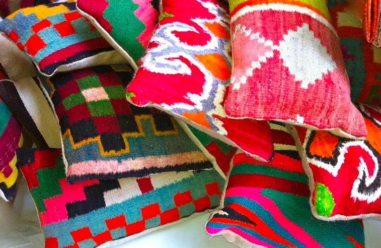 Rock the Kabah - coussins kilims vintage