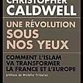 Une révolution sous nos yeux - comment l'islam va transformer la france et l'europe - christopher caldwell - editions du toucan