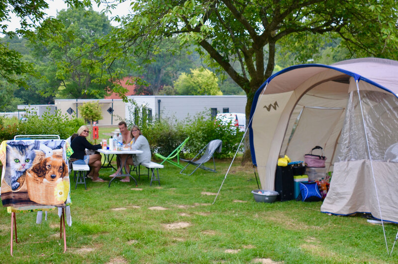 TOURISME 2018 BLANGY CAMPING campeurs