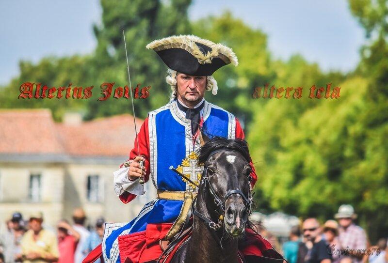 Alterius Jovis altera tela Rochefort - Mousquetaires 2 cie - Richelieu - ecuyers histoire