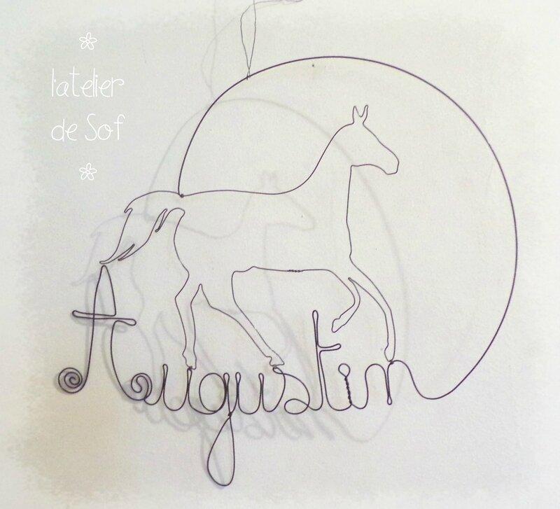 prénom fil de fer Augustin