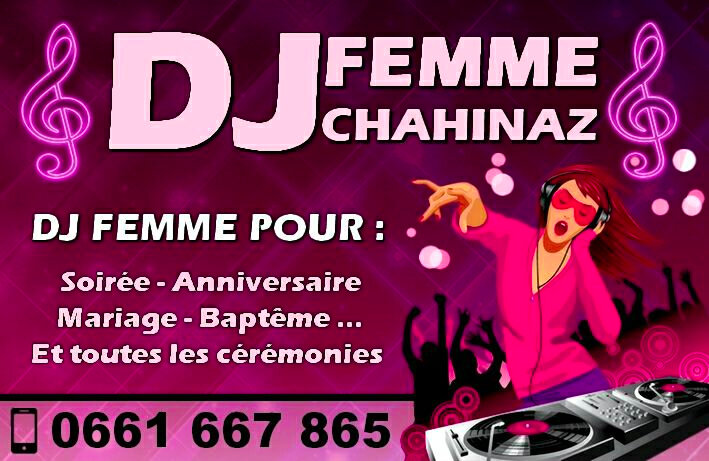 Dj femme a Casablanca 0661667865 / Animation Anniversaires Casablanca 0661667865