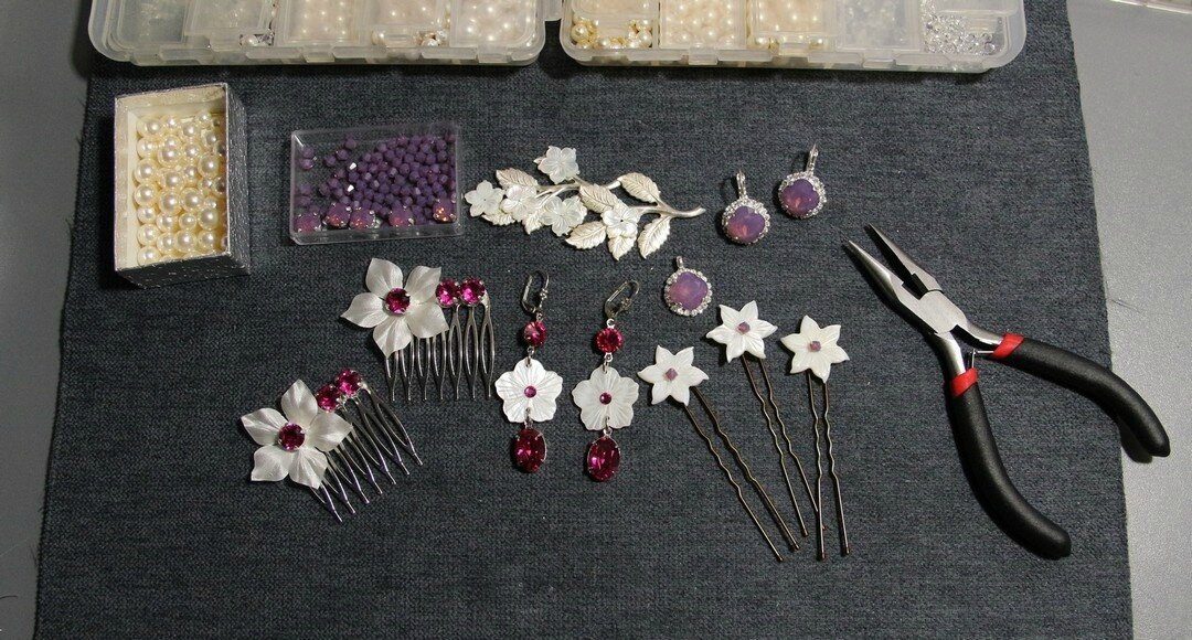 bijoux-mariage-cristal-violet-opal-et-fuchsia