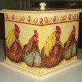 Boîte poules