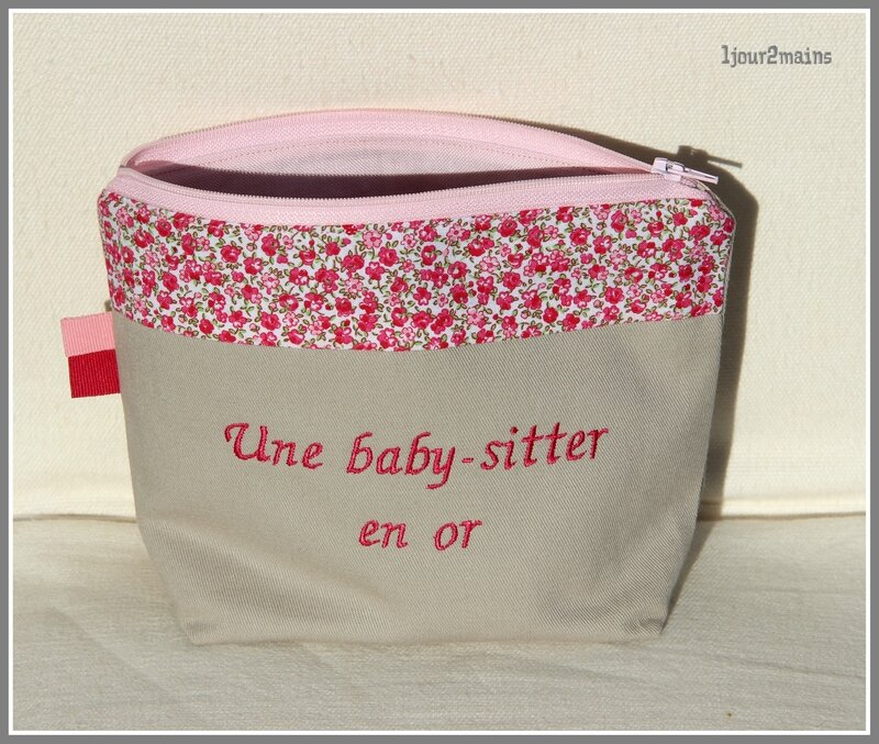 trousse baby sitter