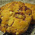 Cookies au beurre de cacahuète et daims